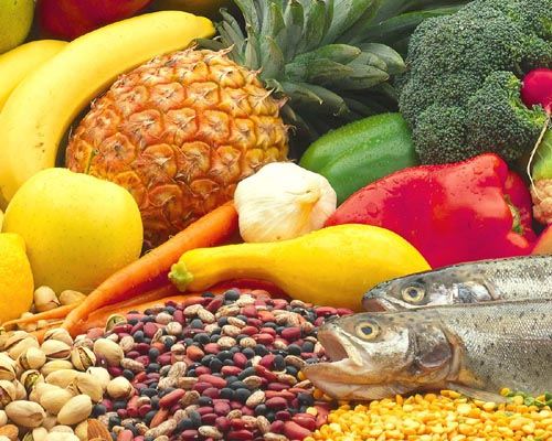 Cancer healthy diet and habits food pyramid for Fish and veggie diet