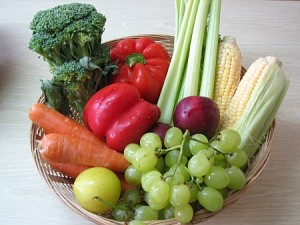 Life choice fruit and vegetables