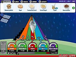 MyPyramid Blast Off Game 2