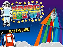 MyPyramid Blast Off Game