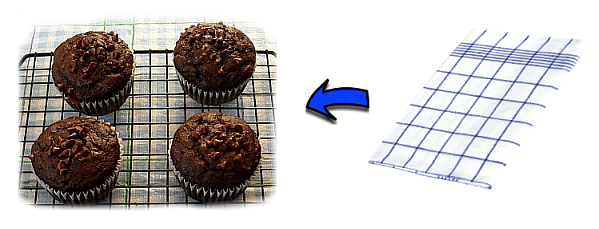 Put a kitchen towel over the muffins and eat them within 24 hours.