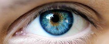 central-heterochromia