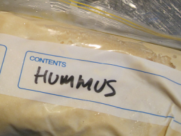 freezing-hummus
