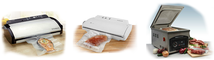 Top rated vacuum sealers can come in many forms.