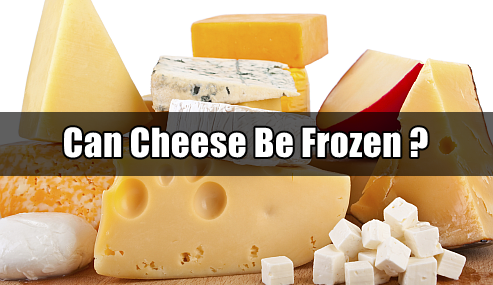 can u freeze cheese
