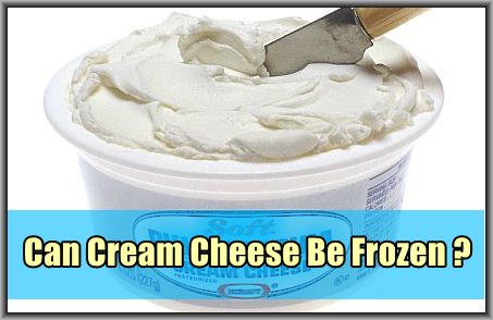 can i freeze cream cheese